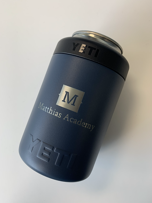 YETI Colster NAVY with MA Logo