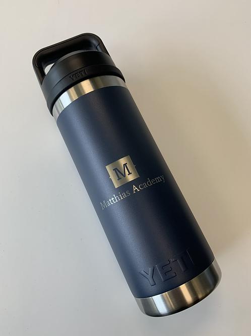 YETI 18oz Water Bottle with MA Logo