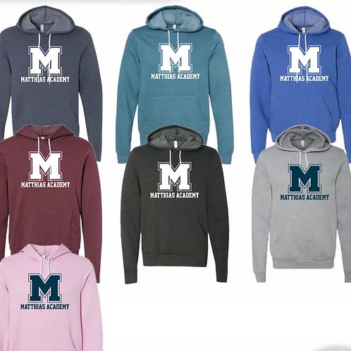 Matthias Academy Hooded Pullover Sweatshirts