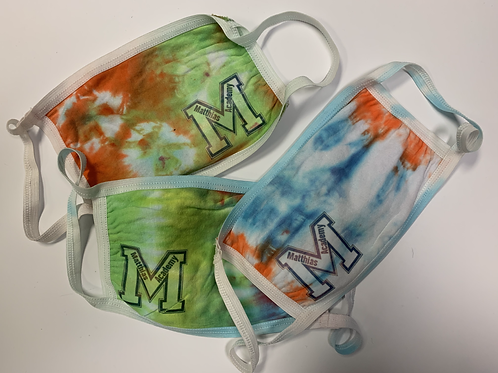 Student Tie Dyed Masks