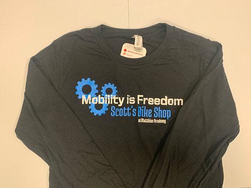 Scott's Bike Shop at MA Tri Blend Long Sleeve T-Shirt
