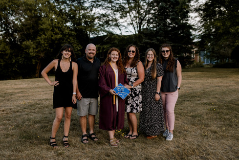 My crazy family.
