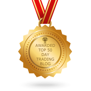 Awarded Top 50 Day Trading Blogs