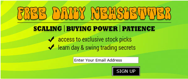The MOJO Day Trading Daily Newsletter