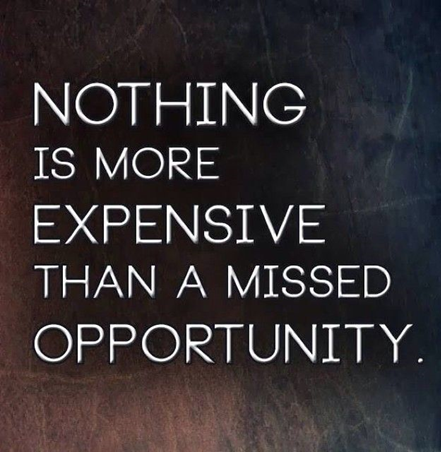 Taking Advantage Of Opportunities?