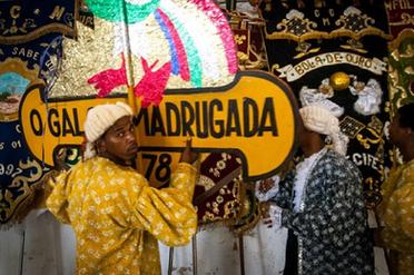 Symbol of the biggest carnival's association Galo da Madrugada (morning rooster)