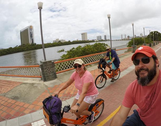 Bike Tour at Capibaribe's River banks