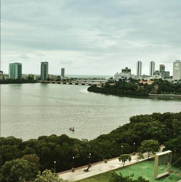 Recife from Santo Amaro's neighborhood