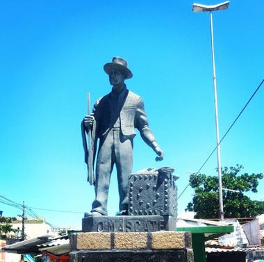 "Tribute to the ""Mascates"" (pedlars) of Recife"
