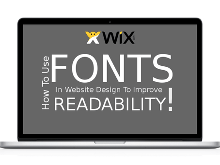 Wix.com網站字型問題