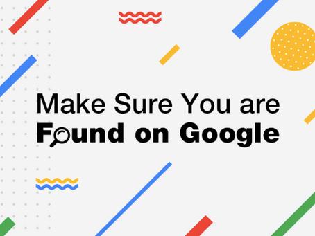 6個步驟在Google上找到你的網站
