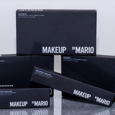 MAKEUP BY MARIO- NEW MAKEUP LINE FIRST LAUNCH REVIEW