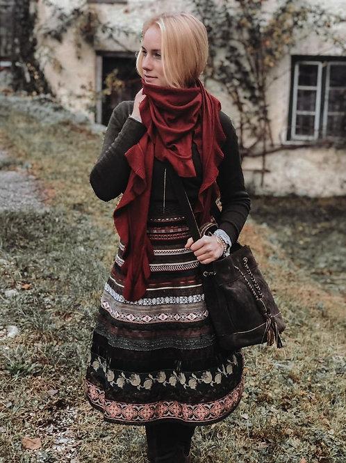 Rüschen- Schal