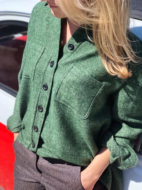"Lodenhemd/Bluse ""grün"""