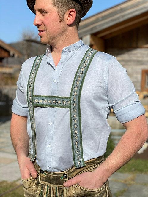 "Gottseidank Hemd ""babyblau"""