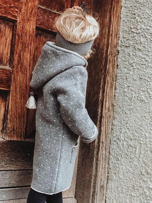 Kinder-Strickmantel