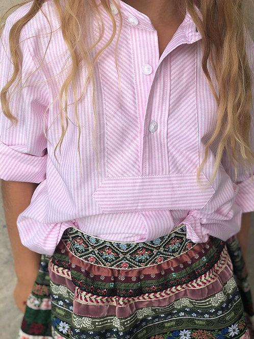 """Kinder-Bluse HundSanScho """"rosa"""""""