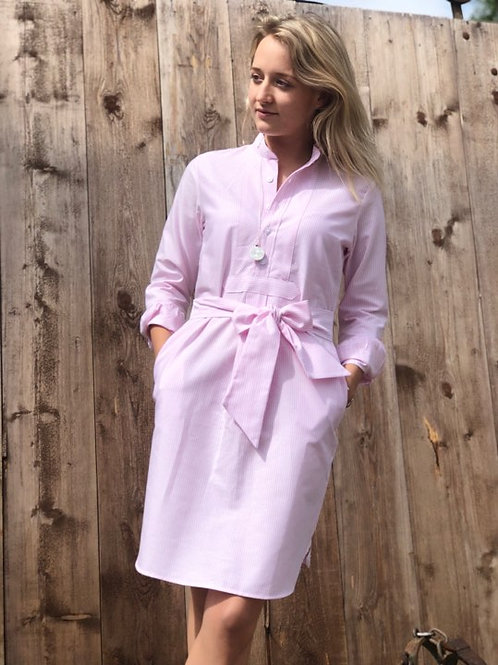 HundSanScho Kleid Schwesternstreif rosa