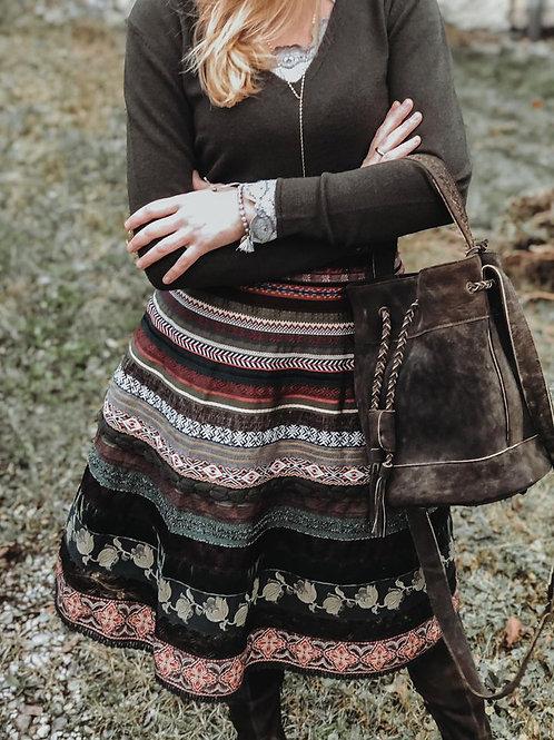 "Lena Hoschek Bänderrock ""tribe"""