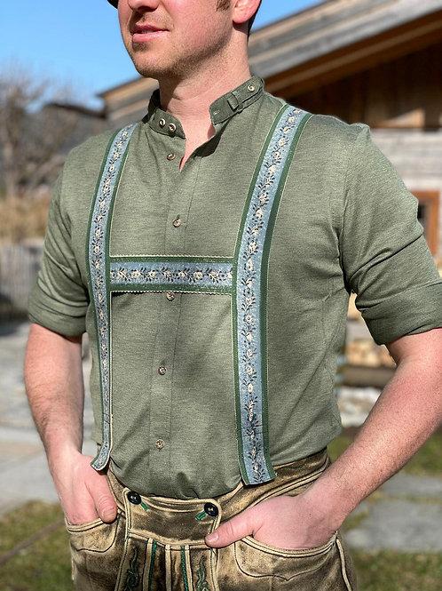 """Gottseidank Hemd """"khaki"""""""