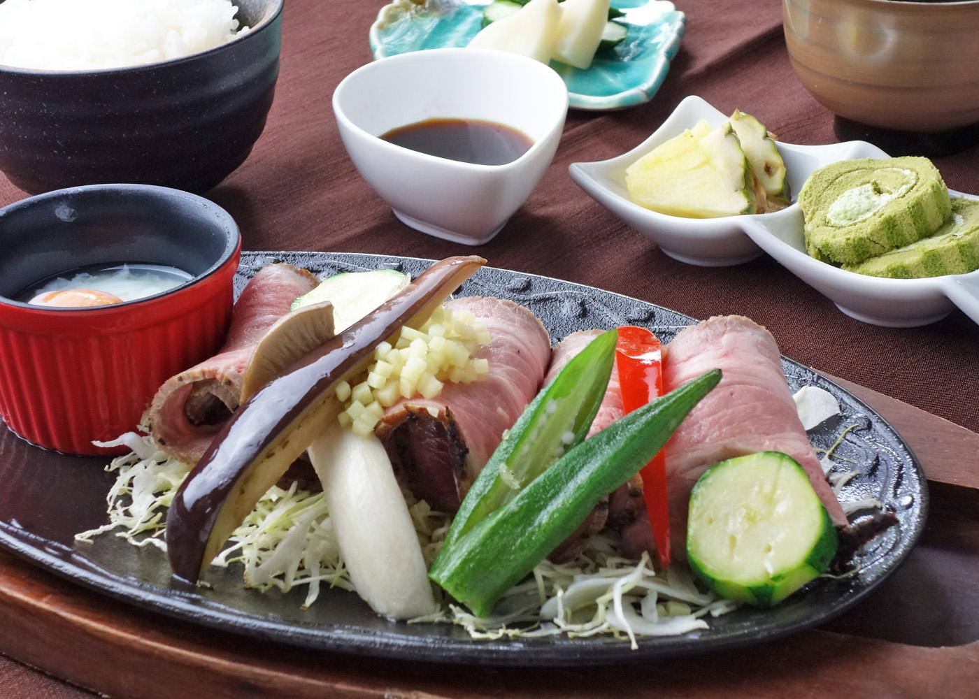 低温調理の四元豚生姜焼き 1,500円(税別)
