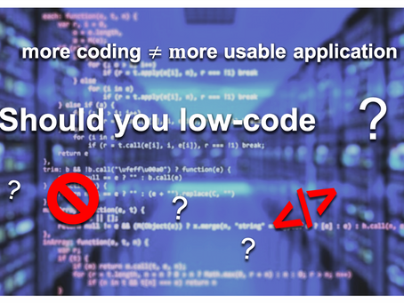 Should you adopt low-code in your organization?