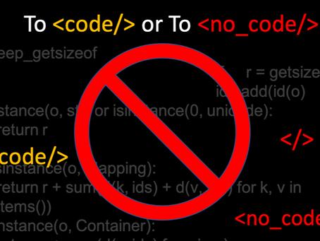 Should a low-code platform generate code?