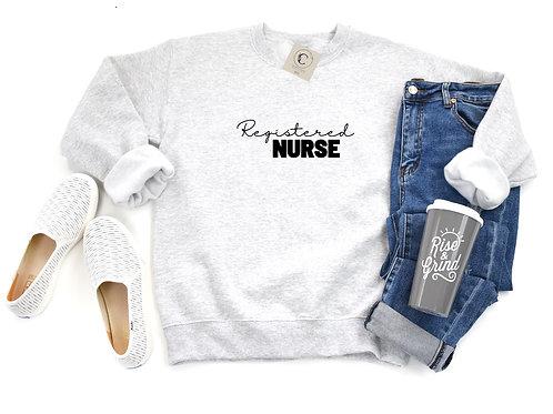 """Custom"" Healthcare Crewneck"