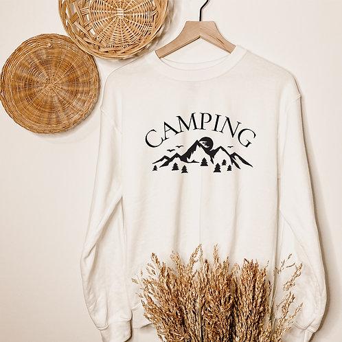 """""""Camping"""" Crewneck"""