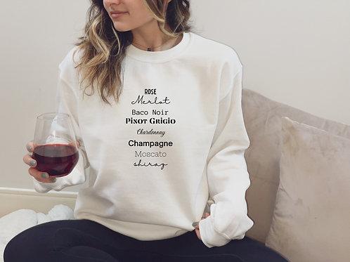 """Love for Wine"" Crewneck"