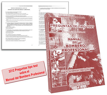 Libro de Test Manual Bombero Profesional