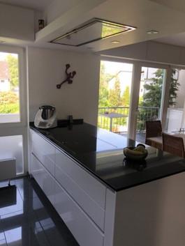 Küche montiert