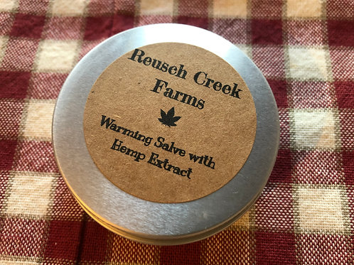 Warming Salve with Hemp Extract
