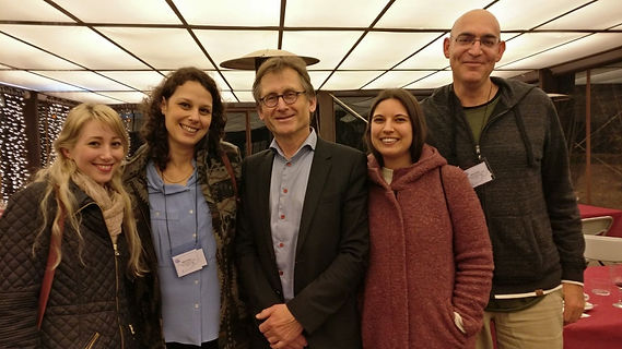 Gala dinner with Prof. Ben Feringa in Girona (2018)