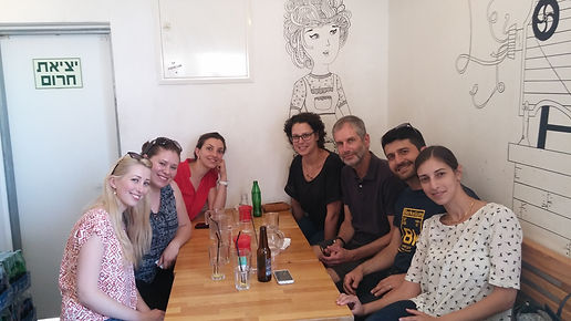 "Lunch in ""Pasta Basta"" with Prof. Andy Borovik (2017)"