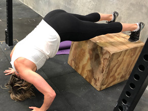 Handstand push up accessory work