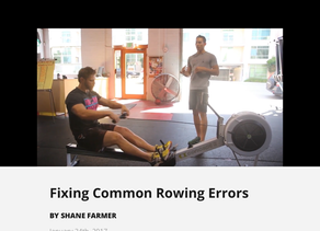 ROWING shouldn't be that hard
