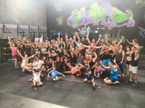 Public Holiday WODs rock at CrossFit 3018 in Altona