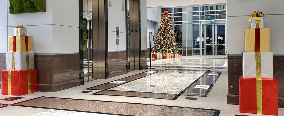 Christmas Lobbies