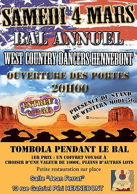 Bal Annuel des West country dancers d'Hennebont