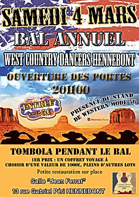 Bal Annuel des West country dancers d'Hennebont