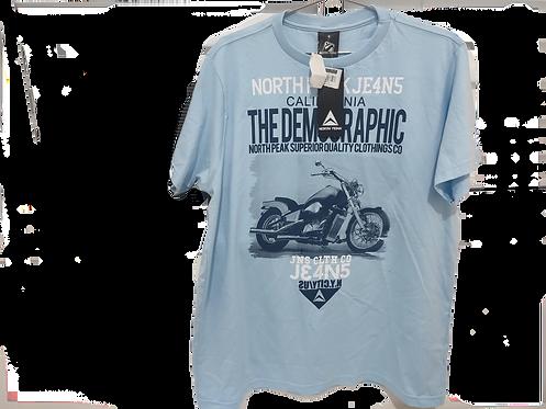 Camiseta azul claro North Peak