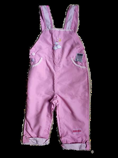 Macacão kids rosa