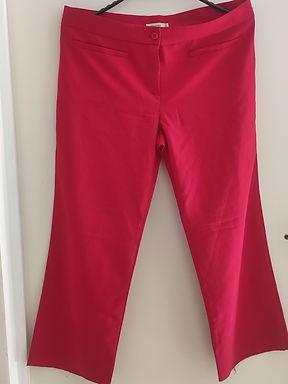 Calça feminino vermelho