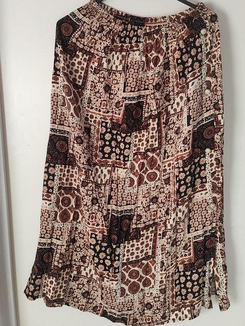Conjunto saia+blusa feminina