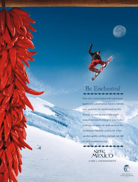Agency: M&C Saatchi   Client: New Mexico Tourism Department