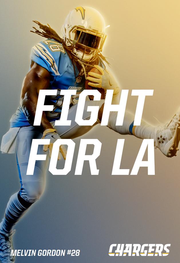 Agency: Saatchi & Saatchi| Client: Los Angeles Chargers