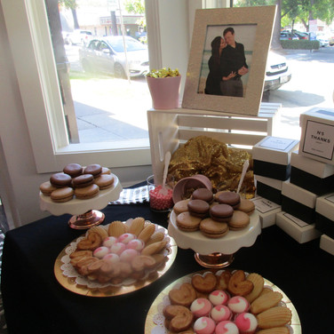 Dessert and Favors Table