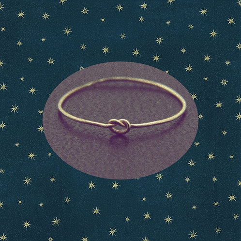 SWEETKNOT solid gold ring