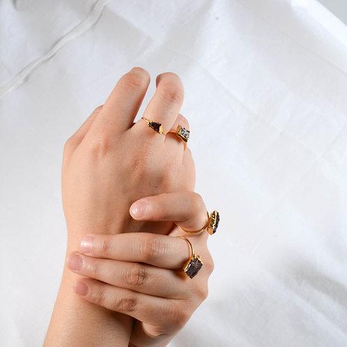 BURGUNDY ring